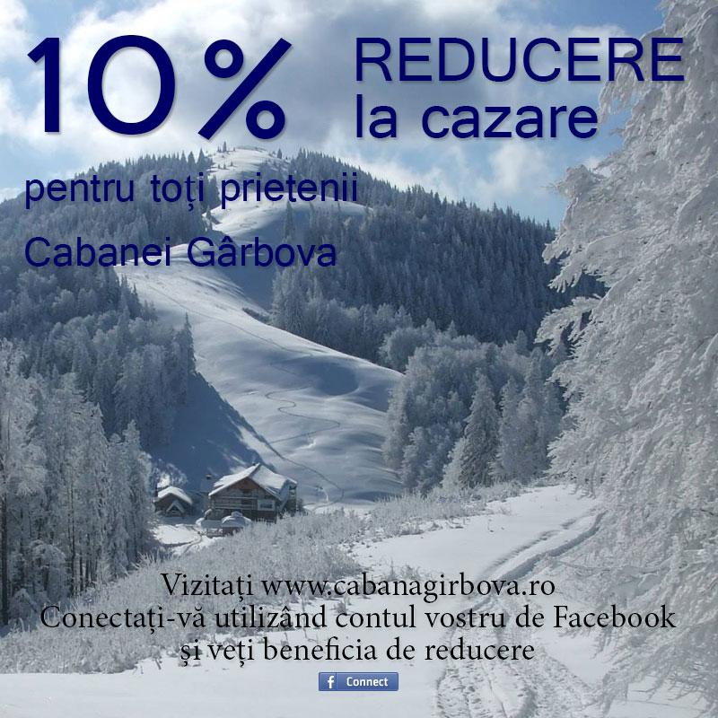 10% Reducere la cazare - Cabana Girbova Predeal